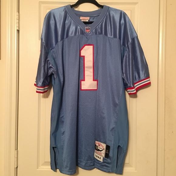 Warren Moon Houston Oilers Throwback Jersey. M 5a60de7805f430ac910d5233 237fdecc1